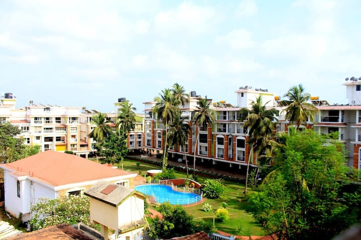 Candolim-Goa Terrace Apartment