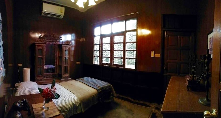 Room with terrace in city Ayutthaya - Tambon Phai Ling - Casa