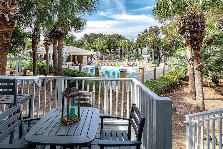 OPEN Jan 15-18☀Updated☀300yds to Beach- 2 Porches☀ Pool☀2X Sanitized☀Wine Down