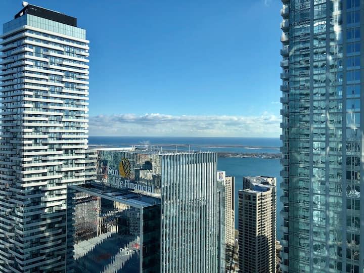 @50th+ Floor ICE CONDOS CN Tower,Union,TIFF/MTCC