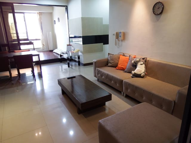 ComfortHouse Kaohsiung-Travel Friendly-左營高鐵站前 舒適小屋 - Zuoying District - Byt