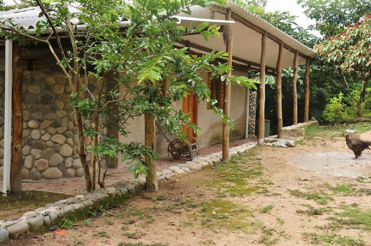 Casa de huéspedes del Jardín Botánico Busintana