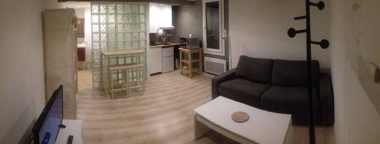 Studio neuf 20 m2 en plein coeur du centre ville