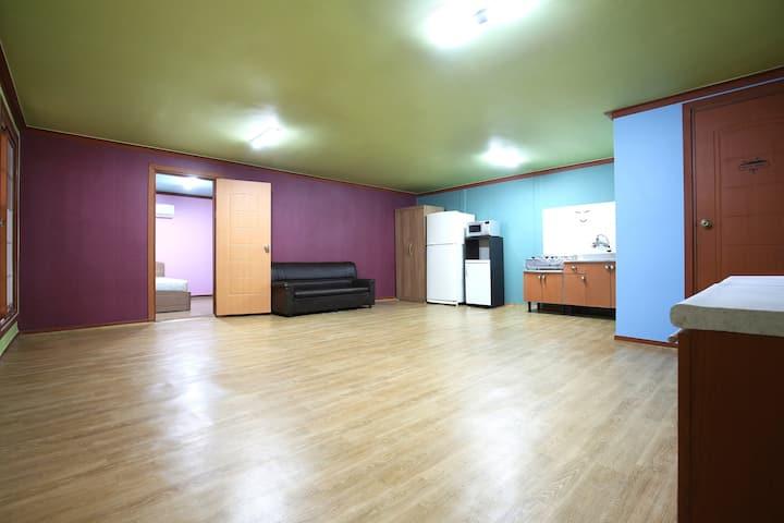청평유원지에 위치한 커플,단체,MT,워크샵 단체모임에 최적의 숙소 미리내 객실