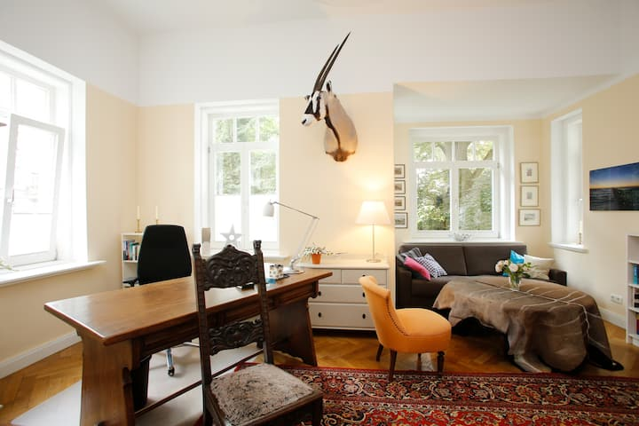 The Cozy Room - Comfy, bright, with a lot of books