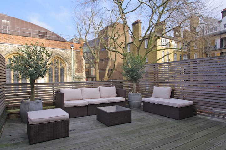 Huge roof terrace | Super stylish | Peaceful Haven