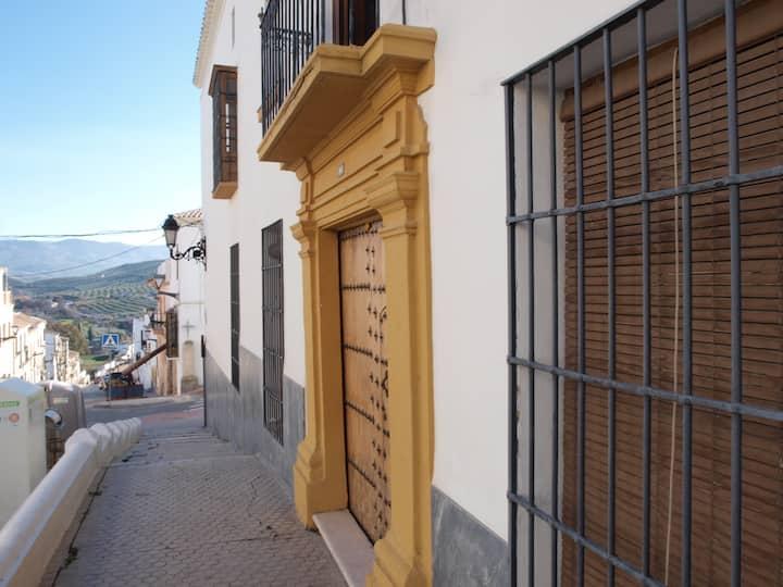 Una casa S XVIII rehabilitada en Baena