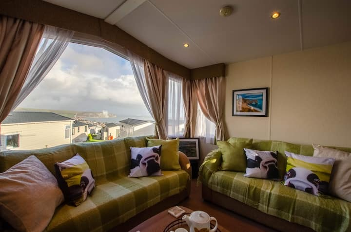 Beautiful static caravan with stunning views