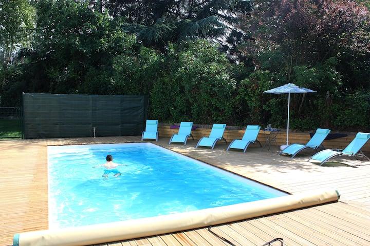 Belle maison individuelle avec piscine