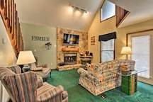 Inside, you find 3 bedrooms, 2 bathrooms, and the comforts of home.