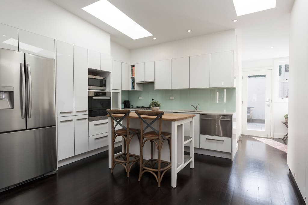 Fully optioned kitchen