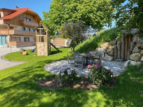 Penthouse farm stay in Salzburg Lake District