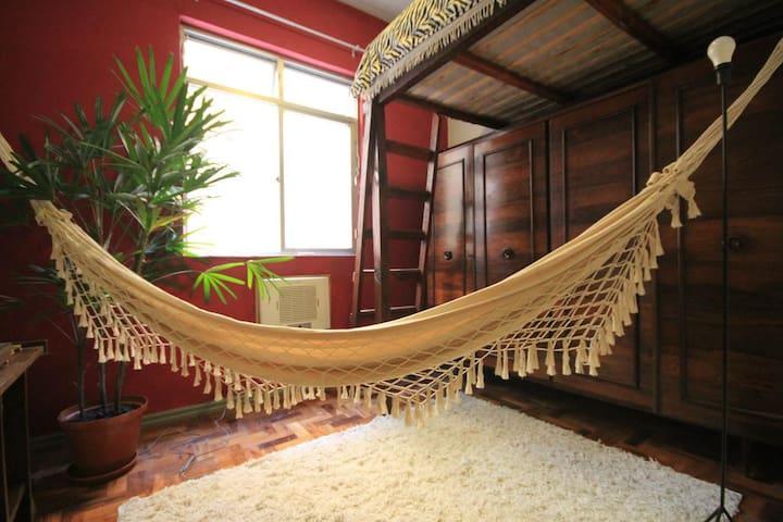 Cozy studio between Lapa and Santa Teresa - Rio de Janeiro - Appartement