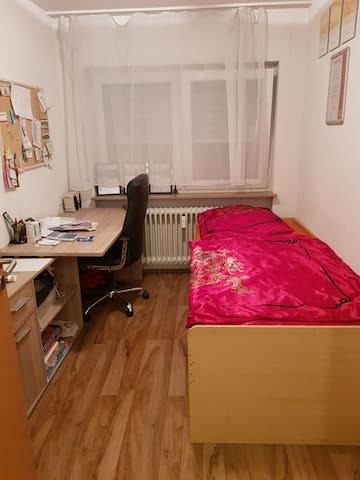 Vermiete ein Gästezimmer in einer 3 Zimmer Wohnung