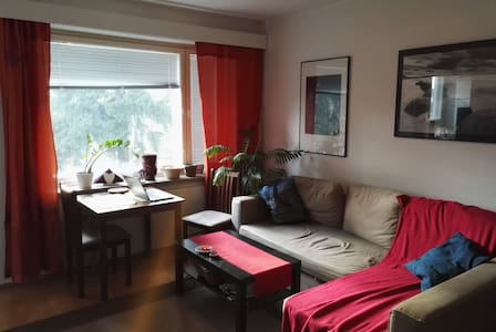 Studio in Lauttasaari, peaceful and cozy. - Helsinki - Daire