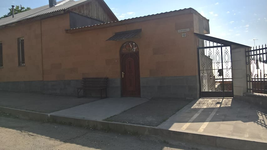 Guest house with pool in Caxkadzor