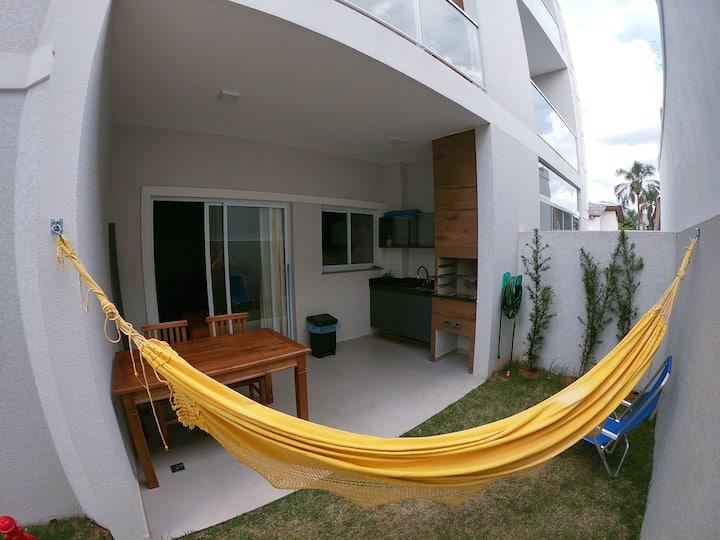 Apartamento Garden com Churrasqueira