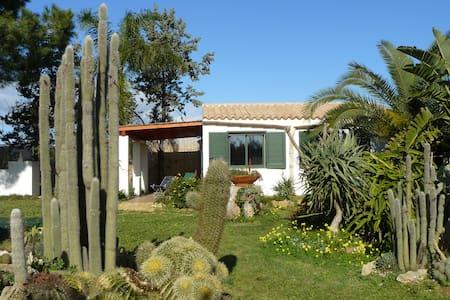 Casa  nella riserva naturale del Belice-Menfi