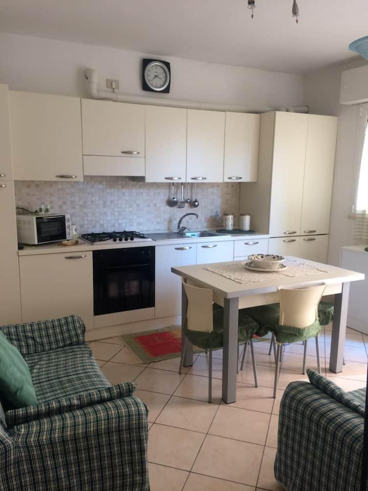 Appartamento accogliente con parcheggio 45m2