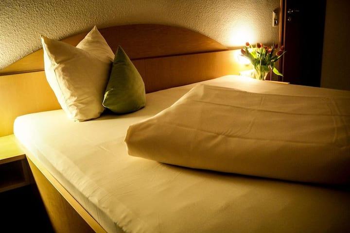 Hotel Restaurant Küferschänke, (Sinsheim), Doppelzimmer mit Dusche/WC