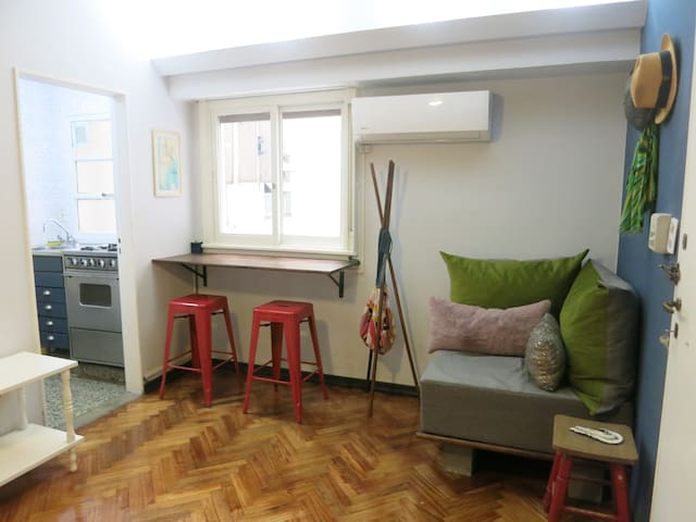 Boutique studio in chic Recoleta.