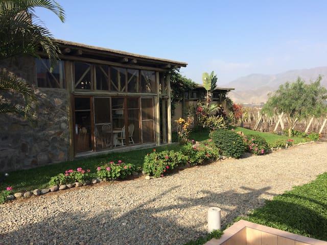 Azpitia Casa en viñedo y bodega de piscos