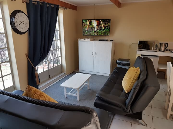 Private luxury studio apartment.