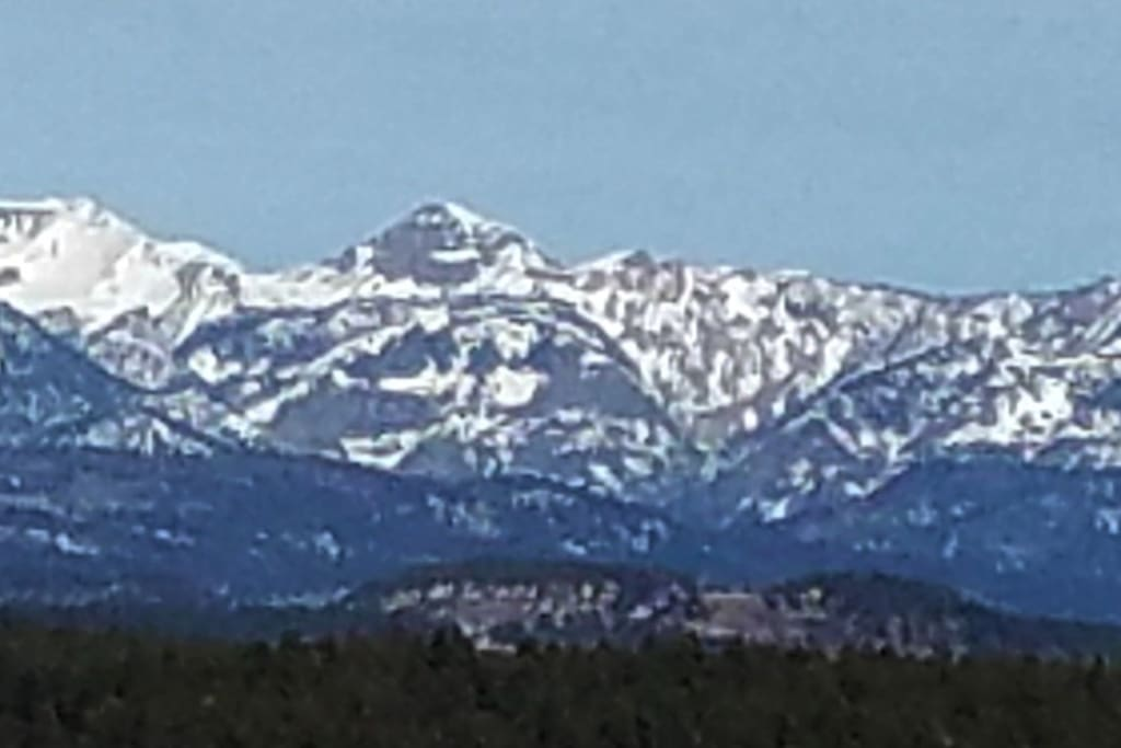 Mountain View (from all north facing windows)
