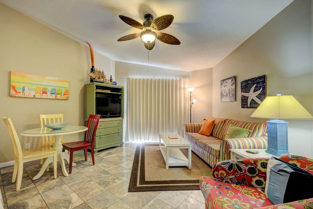 Fully equipped and complete with two televisions, two DVD players and free WIFI, your group can enjoy all the comforts of home.