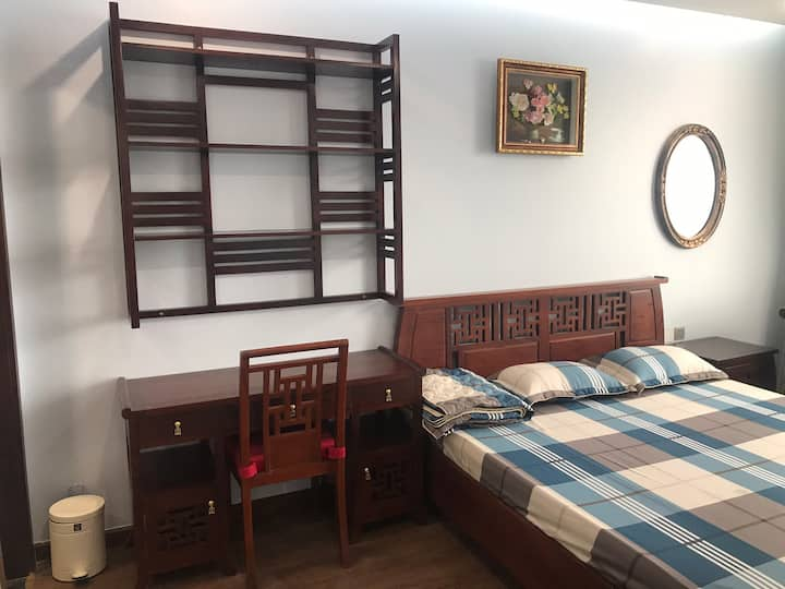 Cozy apt wood in West Lake Tay Ho Hoang Quoc Viet