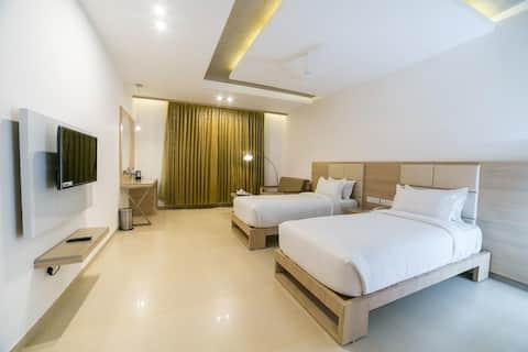 Executive Twin Bed Room at Dindigul