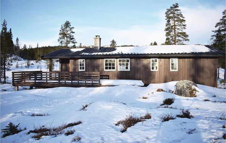 Holiday cottage with 4 bedrooms on 90m² in Eggedal