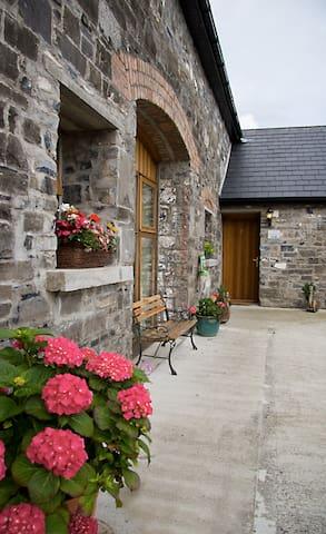 Refurbished stone barns