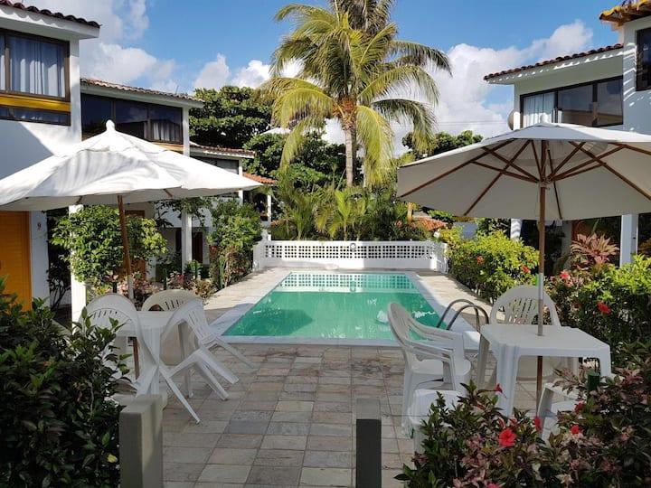 Casa em Condomínio Supertranquilo a 50m do mar!