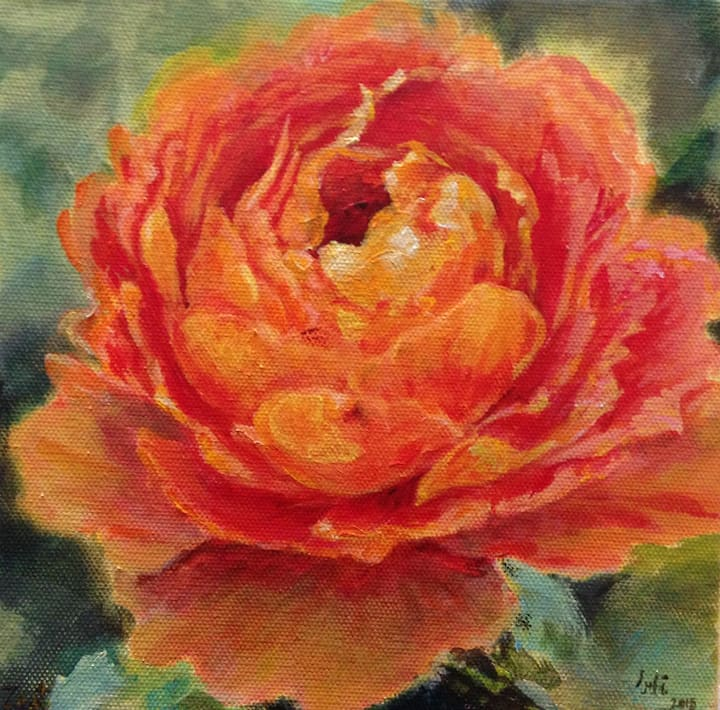 Paint a rose lesson