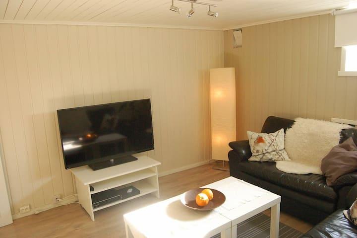 Hybel leilighet kun 7 min fra Oslo lufthavn