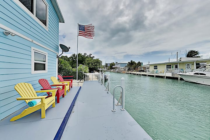 Charming Canal Retreat with Private Dock & Kayaks