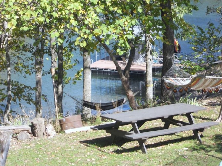 Cove and boat dock