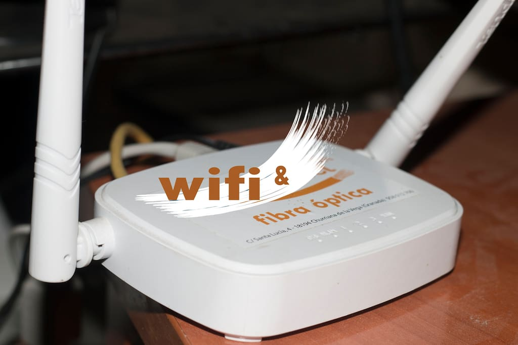 Wifi 100 % COBERTURA toda la casa.