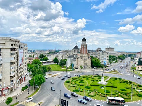 Central City Apartment Ploiesti - Aparcamiento gratuito