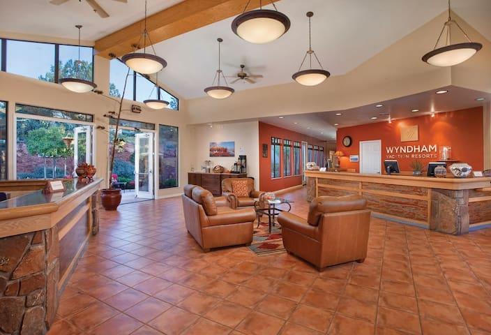 Wyndham Sedona Resort in a 1 BEDROOM DELUXE