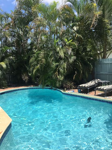 Room -Studio by the FLL Airport, Dania Beach, POOL