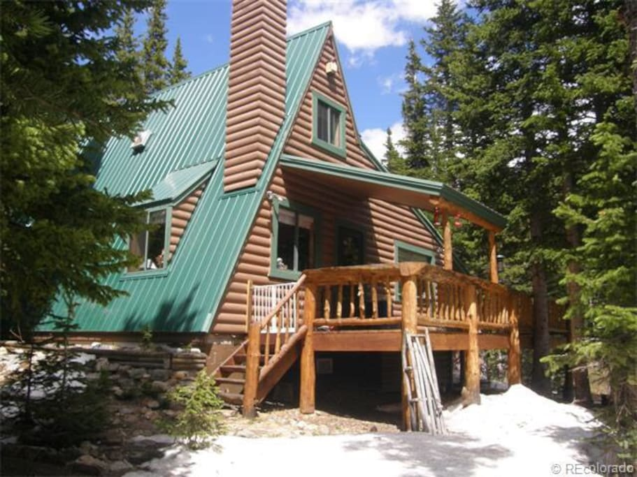 Beautiful A Frame Cabin On Sliver Lake Cabins For Rent