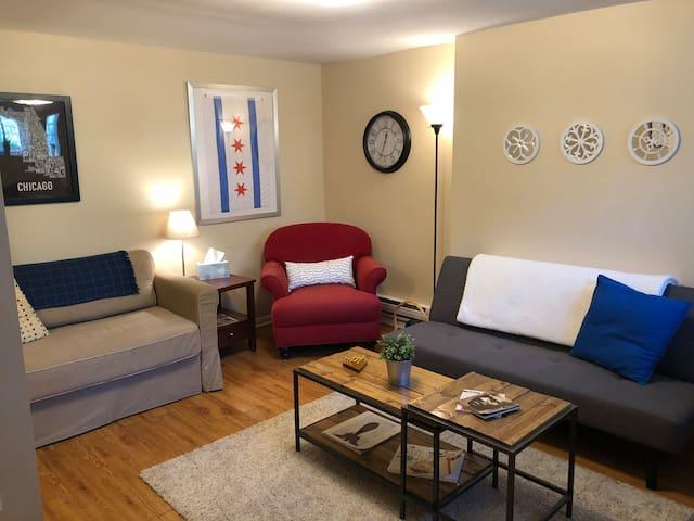 Spacious, 1- bedroom Garden Apartment