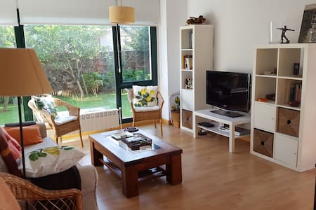 Vacational Apartment with private garden, Novales - Novales - Apartamento
