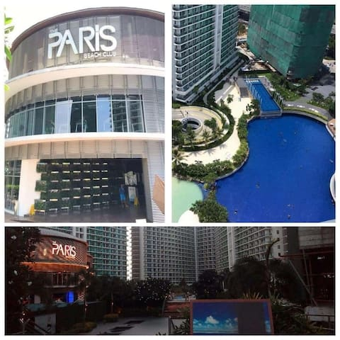 Sky azure (2bedroom) - Manila - Apto. en complejo residencial