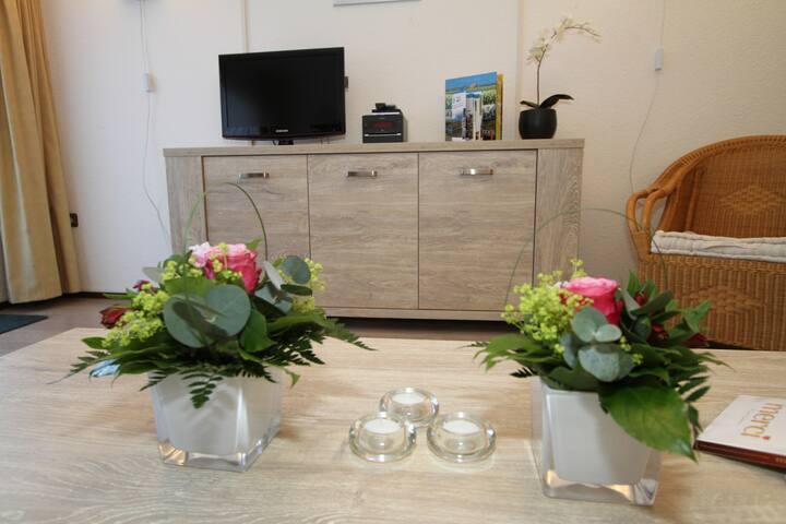 Appartement  Wind met Sauna Texel Huisje