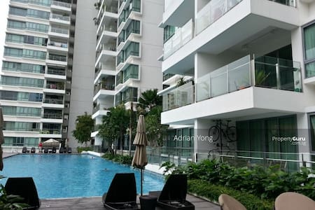 Cozy private room situated in modern condominium - Singapore - Kondominium