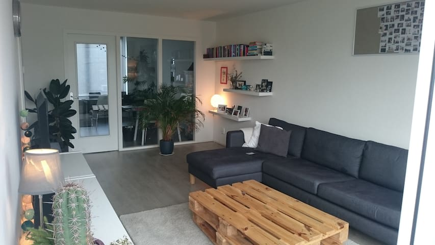 Bright and modern 2 person room in Amsterdam West! - Amesterdão - Apartamento