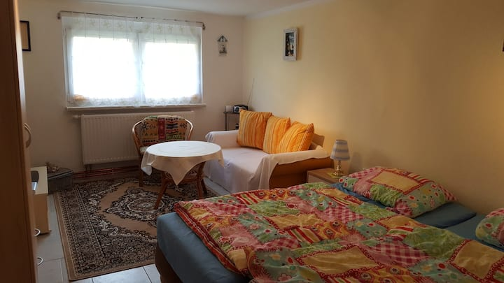 Ferienzimmer in Strandnähe!